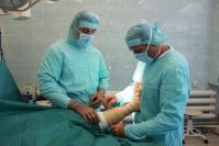 Подготовка к высокотехнологичной операции на стопе