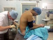 проведение эпидуральной анестезии перед операцией