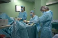 проведение операции - контроль состояния коленного мениска